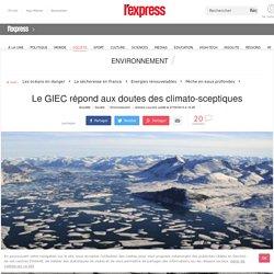 Le GIEC répond aux doutes des climato-sceptiques