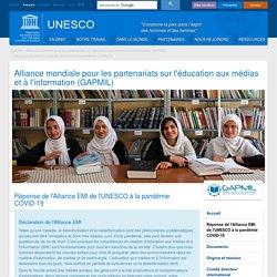 Réponse de l'Alliance EMI de l'UNESCO à la pandémie COVID-19