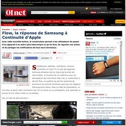 Flow, la réponse de Samsung à Continuité d'Apple