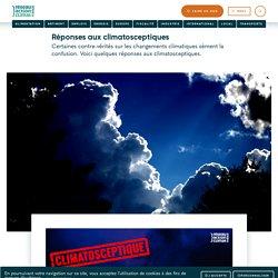 Réponses aux climatosceptiques