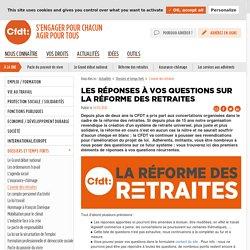 Les réponses à vos questions sur la réforme des retraites