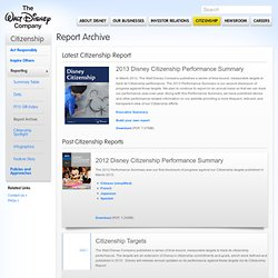 Disney Environmentality - Enviroport 2007