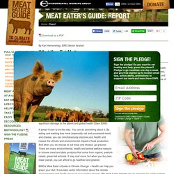Meat Eater's Guide to Climate Change + Health