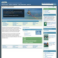 EPA - 2008 - Report on the Environment