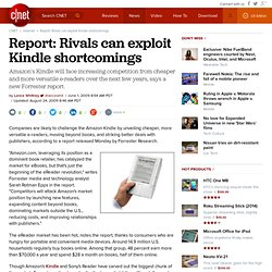 Report: Rivals can exploit Kindle shortcomings