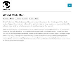 World Risk Index Report & Interactive Map