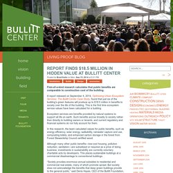 Report Finds $18.5 Million in Hidden Value at Bullitt Center