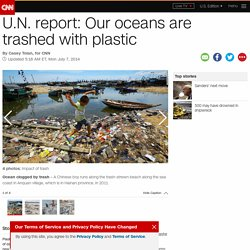 U.N. report: Our oceans are trashed with plastic