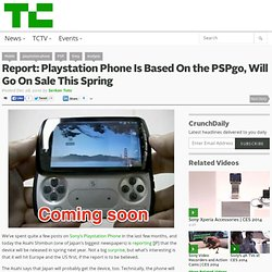 Report: Playstation Phone Is Based On the PSPgo, Will Go On Sale This Spring