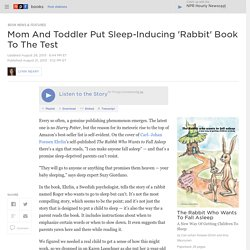 Report: 'The Rabbit Who Wants To Fall Asleep' By Carl- Johan Forssen Ehrlin