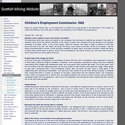 1842 Report - Scottish Mining Website