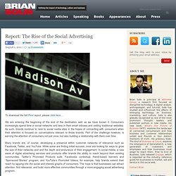 The Rise of the Social Advertising Brian Solis