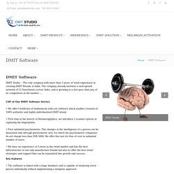 DMIT Report Software Download