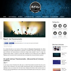 Report : Les Transmusicales