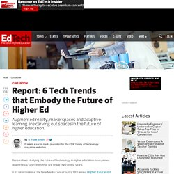 Report: 6 Tech Trends that Embody the Future of Higher Ed