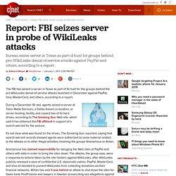 FBI seizes server