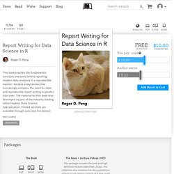 Report Writing for Data… by Roger D. Peng