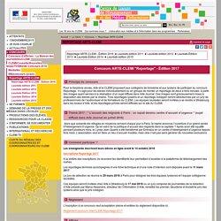 CONCOURS REPORTAGE - (ARTE-CLEMI)