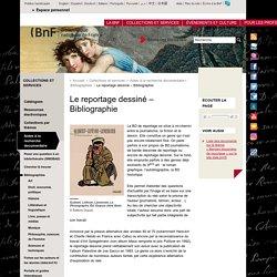 Le reportage dessiné – Bibliographie