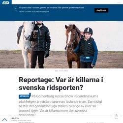 Reportage: Var är killarna i svenska ridsporten?