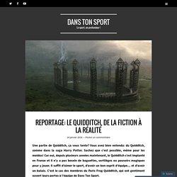 DANS TON SPORT - Reportage: le Quidditch, de la fiction à la réalité