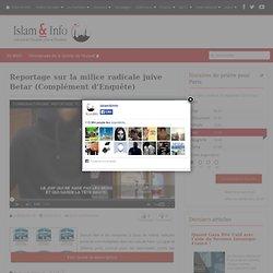 Reportage sur la milice radicale juive Betar (Complément d'Enquête)