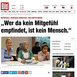 """Judith Rakers über Reportage """"Schicksal Heimatlos"""": """"Wer da kein Mitgefühl empfindet, ist kein Mensch."""" - Leute"""