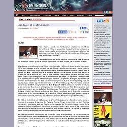 Reportaje: Alan Moore, el creador de cómics - comics -