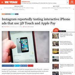 Instagram reportedly testing interactive iPhone ads that use 3D Touch and Apple Pay