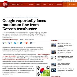 Google reportedly faces maximum fine from Korean trustbuster | Digital Media