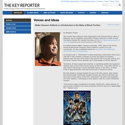 The Key Reporter - Walter Greason Reflects on Afrofuturism in the Wake of Black Panther