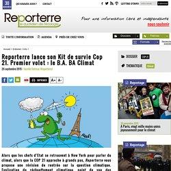 Reporterre lance son Kit de survie Cop 21. Premier volet: le B.A. BA Climat