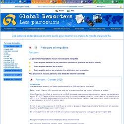 Global Reporters parcours Toutes les enquêtes