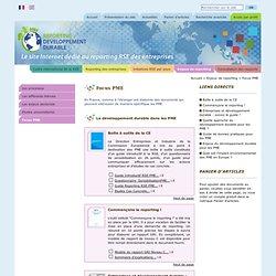 UE - PME Reporting RSE - Listing de guides DD