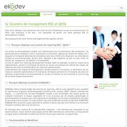 Reporting - eko-Conseil - ekodev