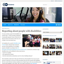 Reporting about people with disabilities - Asia - Asia