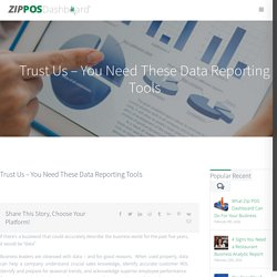 Best Data Reporting Tool for Restaurant Managers