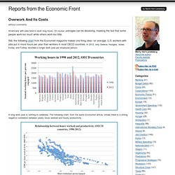 Reports from the Economic Front