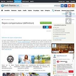 Repos compensateur (définition)
