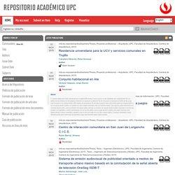 UPC tesis repositorio académico