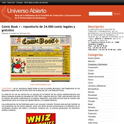 Comic Book + : repositorio de 24.000 comic legales y gratuitos