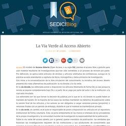 Blog del repositorio institucional de la UNLP – SEDICI