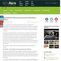 Repositorios: bancos de recursos educativos online