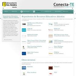 Repositorios de Recursos Educativos Abiertos - Conecta-TE