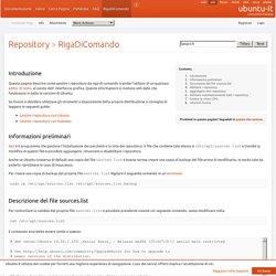 Repository/RigaDiComando