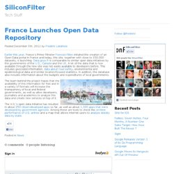 France Launches Open Data Repository