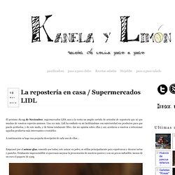 La repostería en casa / Supermercados LIDL