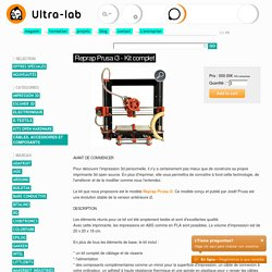 Reprap Prusa i3 - Kit complet