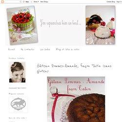 Gâteau pommes-amande, façon Tatin (sans gluten)