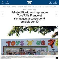Jellej etPicwic vont reprendre Toys'R'Us France et s'engagent à conserver 9 emplois sur 10
